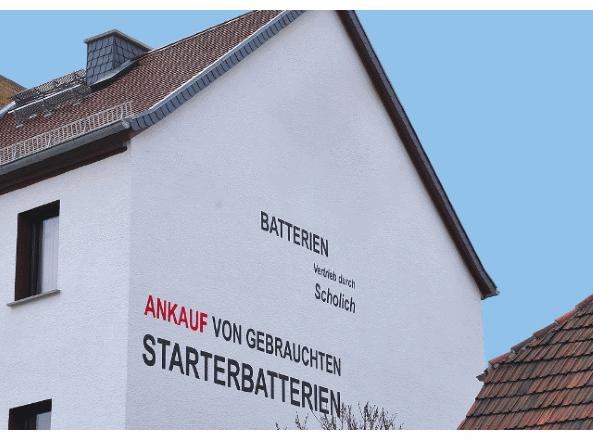 KFZ Scholich Haus Seitenansicht