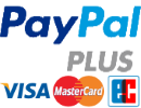 sichere Zahlung über PayPal Plus (PayPal, EC-Card, Visa/Mastercard, Rechnung))