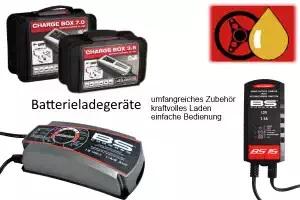 Batterieladegeräte für PKW/LKW- und Motorradbatterien