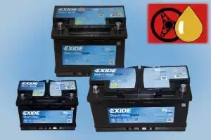 Exide Premium und AGM Starterbatterien