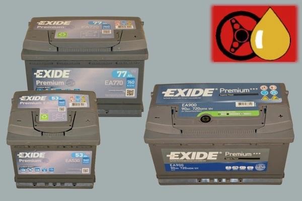 Exide Premium Starterbatterien