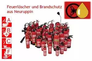 Brandschutz und Feuerlöscher aus Neuruppin