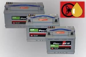 PowerRED AGM Starter- und Versorgungsbatterien