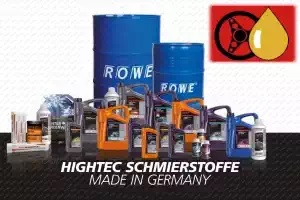 ROWE Motorenöle und HighTec Schmierstoffe Made in Germany