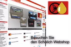 Besuchen Sie den Scholich Webshop!